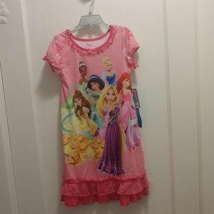 NWT Disney Princess nightgown 5/6